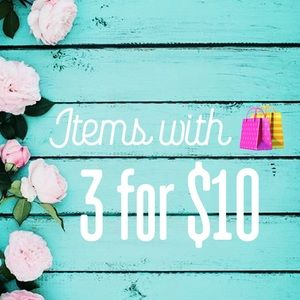 Other - 🛍 3/$10 🛍 & ⭐️Everyday $5 Deals⭐️ Please Read